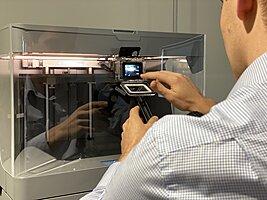 3D-Printer-Setup, Advanced Manufacturing